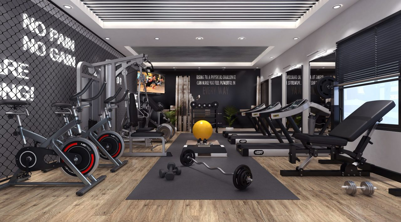 world class gym with apartments in islamabad - capital icon