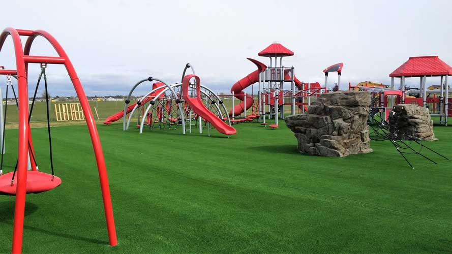 Green & Park Area
