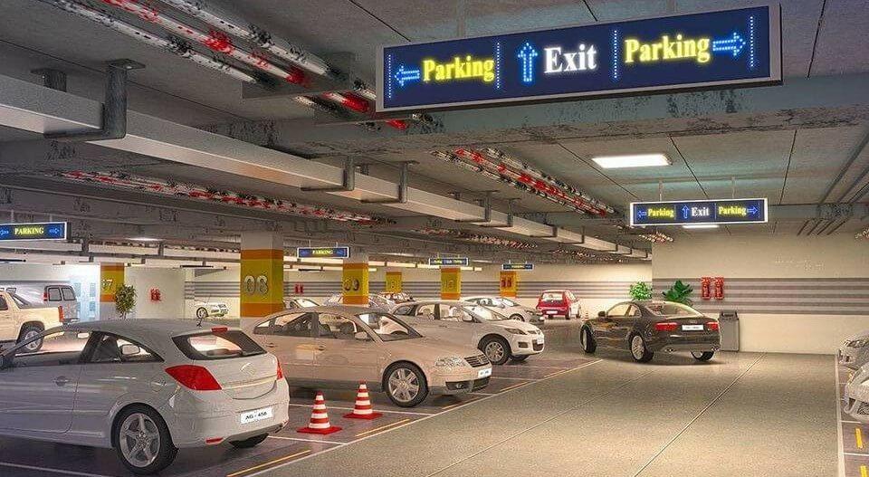3 Level Car Parking